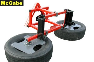 McCabe Silage Pusher - 3 Pt + Matbru Bracket