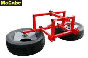 McCabe Silage Pusher - 3Pt Linkage Mount