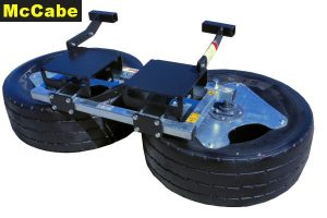 McCabe Silage Pusher - Tines Brackets